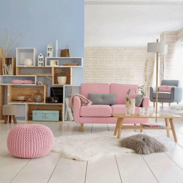Rosa-quarzo-e-azzurro-serenity-in-soggiorno