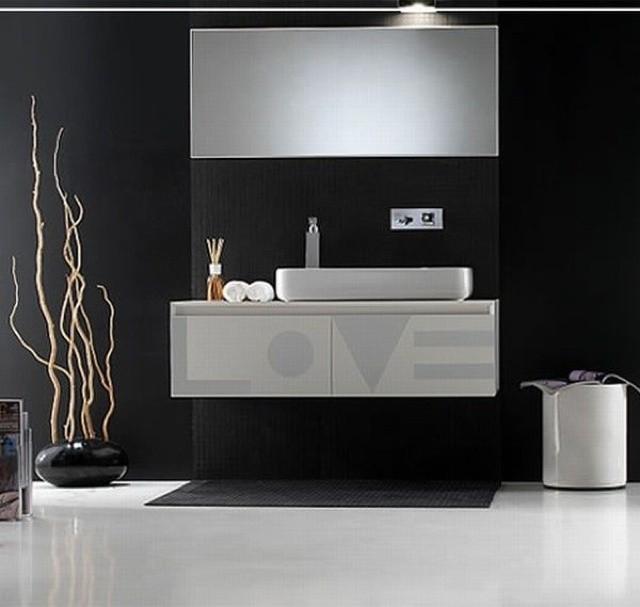 Bagno Moderno Bianco E Nero.Un Bagno Optical Come Arredarlo In Puro Stile Black White