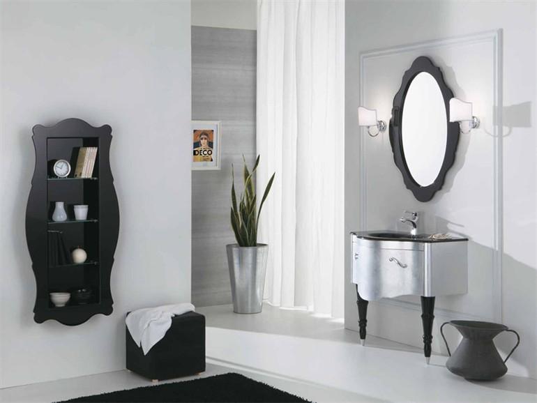 Un bagno optical come arredarlo in puro stile black white - Bagno come arredarlo ...