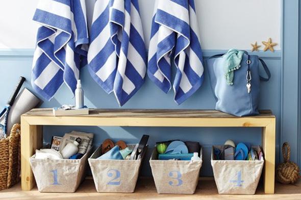 Voglia di mare come arredare casa con lo stile navy for Arredo bagno marinaro