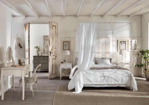 Camera Da Letto In Stile Provenzale Per Un Romantico Relax