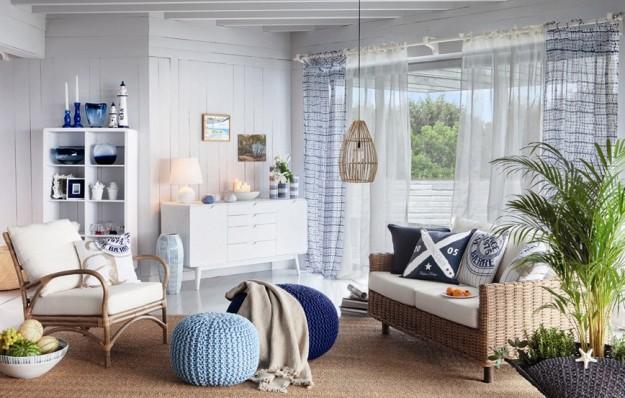 Voglia di mare come arredare casa con lo stile navy for Case di mare interni