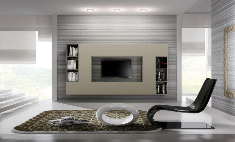 Arredare in stile futuristico idee originali per una casa 2 0 - Arredamento parete soggiorno ...