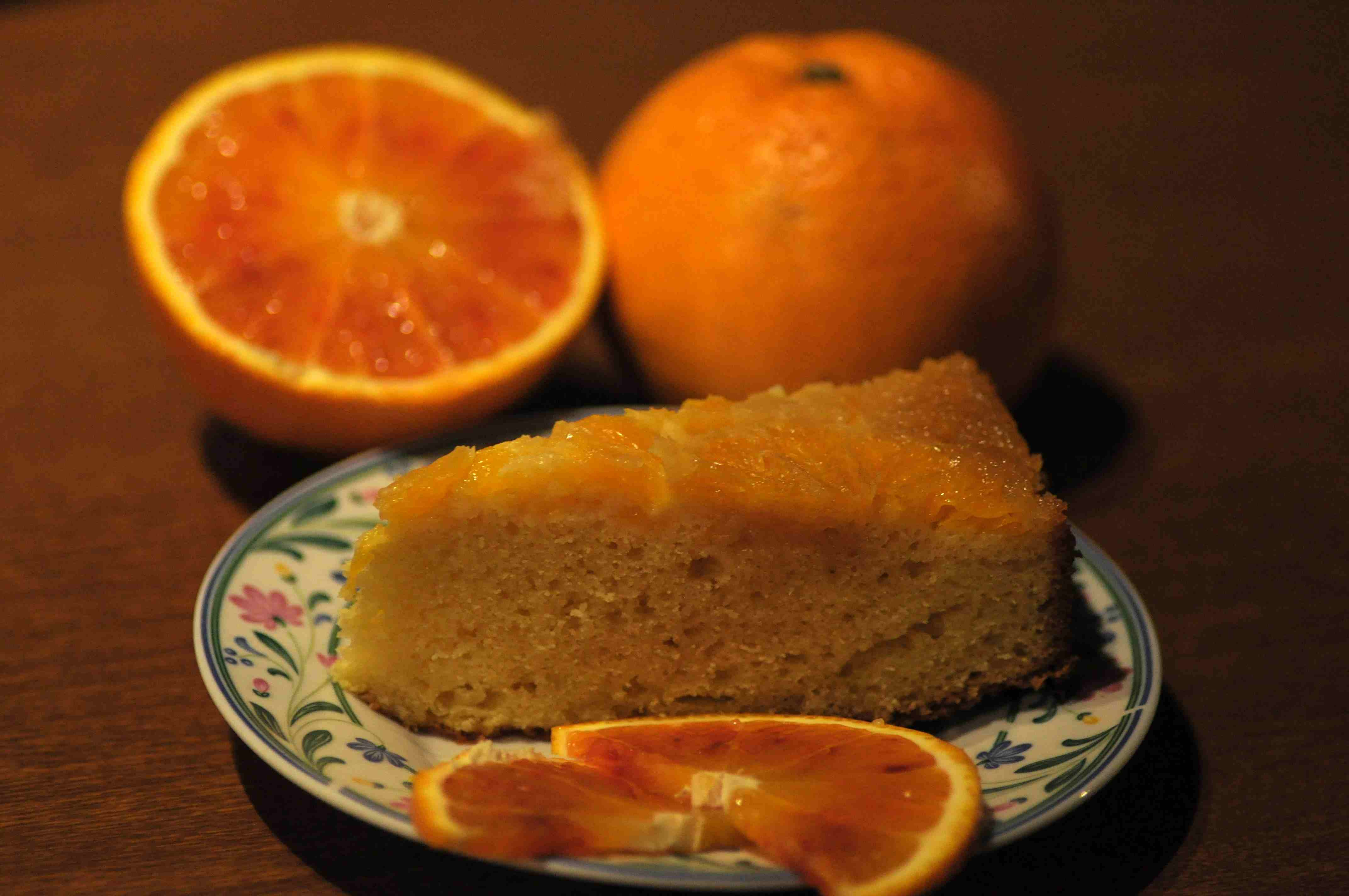 Torta rovesciata all'arancia - Mamme a spillo