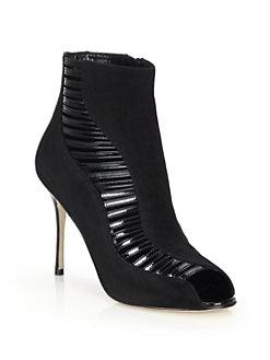 scarpe con tacco primavera 2016 redo suede manolo blahnik mamme a spillo