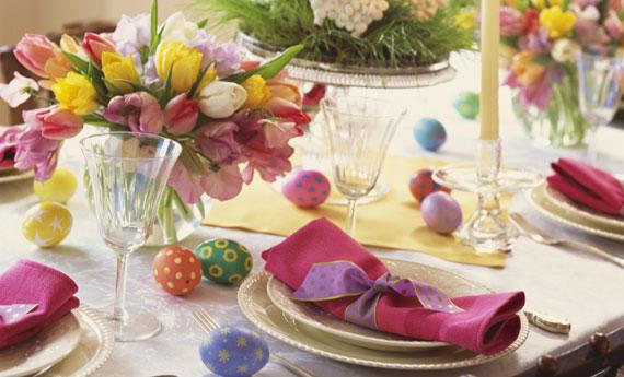Come decorare la tavola di pasqua idee e spunti di primavera - Decorazioni tavola ...
