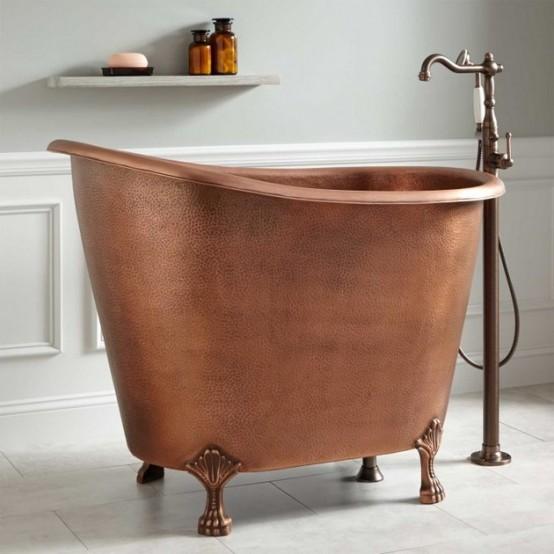 Vasche da bagno piccole ma magnifiche! - Mamme a spillo