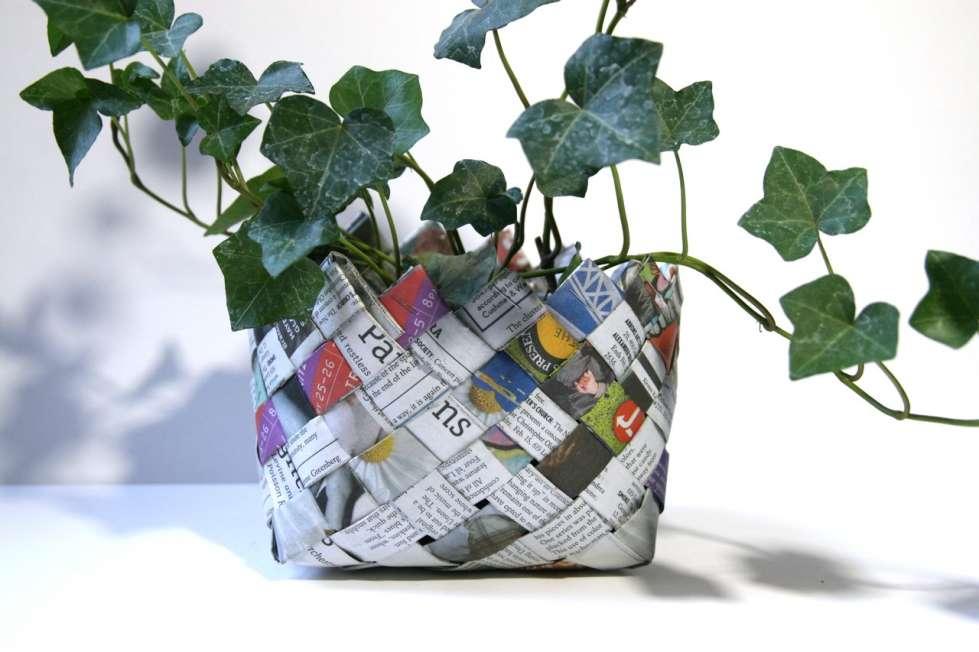 Portaoggetti fai da te tante idee carine e low cost - Porta piante fai da te ...