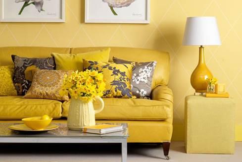 La casa del sole: come arredare con il giallo (e come abbinarlo)
