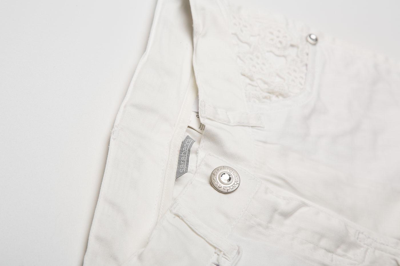 Sarabanda-shorts-bambina-bianchi