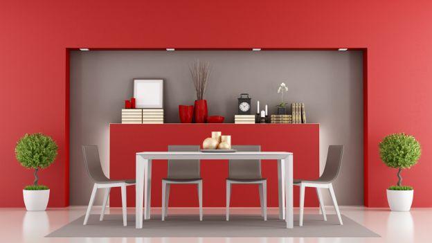 Rosso mon amour una casa nel colore delle fragole for Arredare con il colore