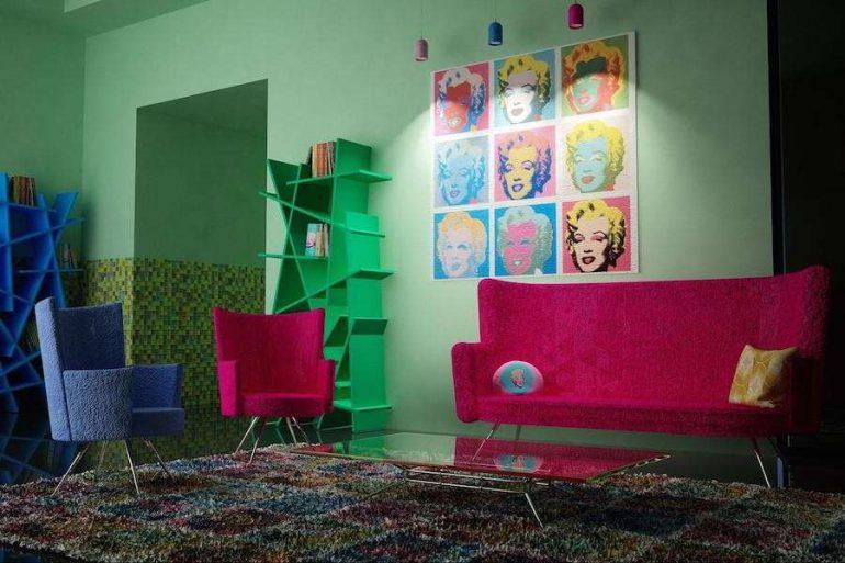 Arredamento Stile Pop Art : Pop art: come arredare nello stile di andy warhol