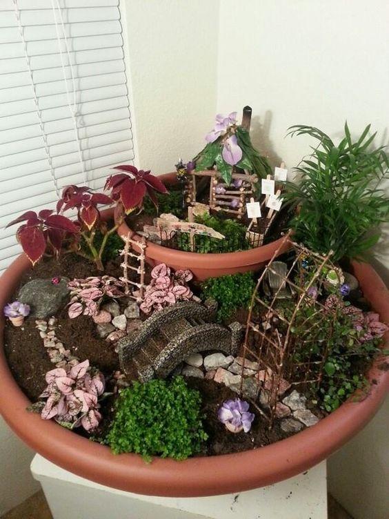Come realizzare un giardino in miniatura il fascino fiabesco del mini garden - Giardino in miniatura ...