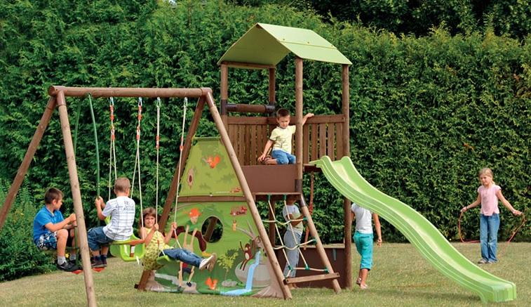 Giochi per bambini come trasformare il vostro giardino in un mini