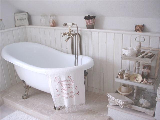 Un bagno in stile shabby chic ecco come realizzarlo - Arredo bagno shabby chic ...