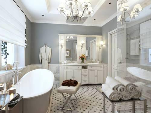 Un bagno in stile shabby chic ecco come realizzarlo - Bagno stile shabby ...