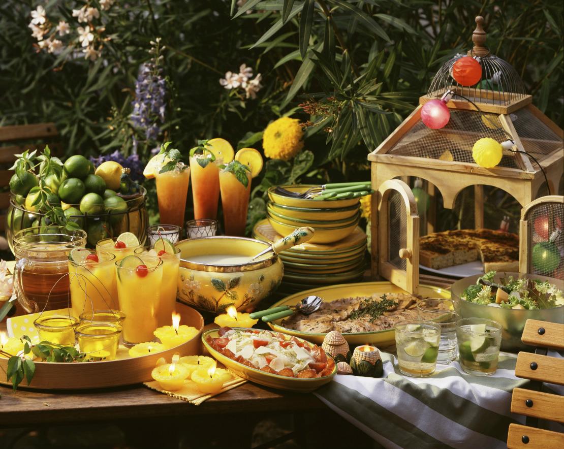 Favorito Summer party in giardino: come organizzare una festa di stile PW67