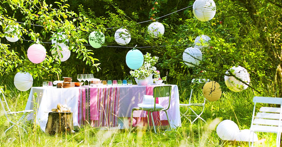 Summer party in giardino come organizzare una festa di stile - Giardini country ...