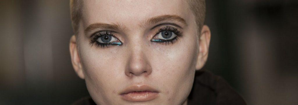 make-up autunno 2016 occhi glitterati mamme a spillo