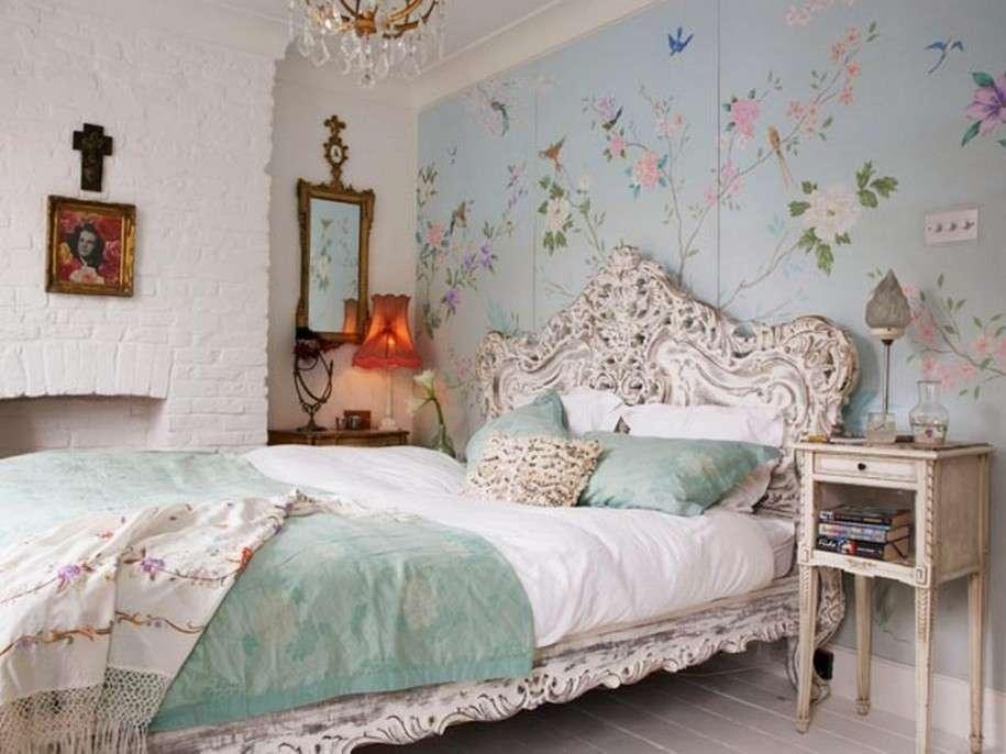 Carta Da Parati Stanza : Camera da letto in stile vintage ecco come arredarla