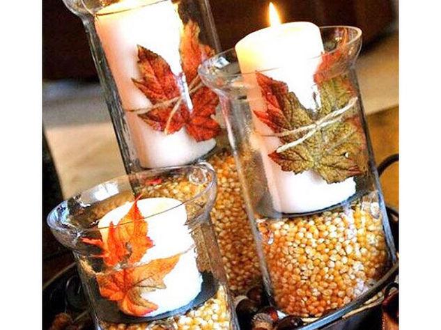 L 39 autunno in casa 3 idee fai da te super facili da realizzare con le foglie - Idee facili per decorare casa ...