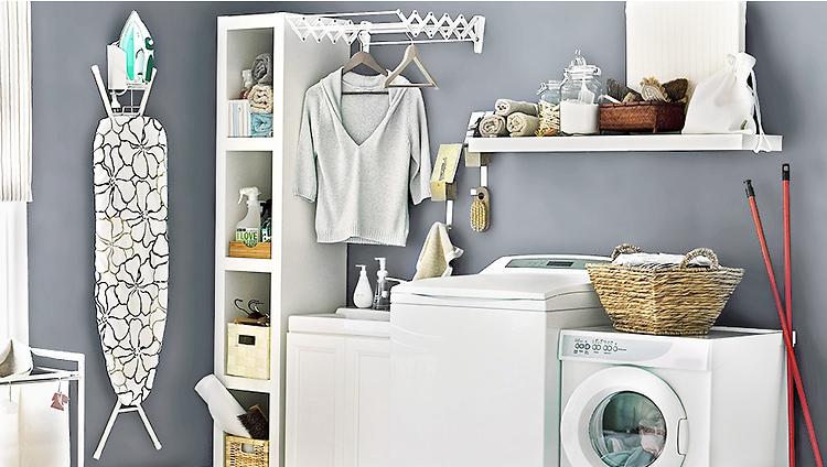 Lavanderia a casa ecco gli indispensabili anche con poco - Arredo lavanderia casa ...