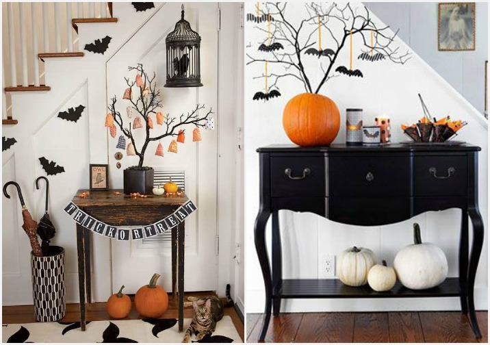 Decorazioni di halloween fai da te tante idee super paurose - Decorazioni halloween fatte in casa ...