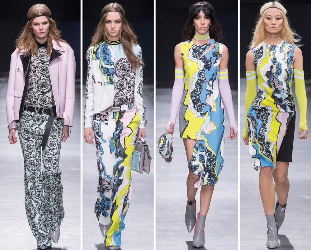 4d7e7a2ceaaf50 Versace Collezione Donna autunno/inverno 2016/2017: tutte le novità ...