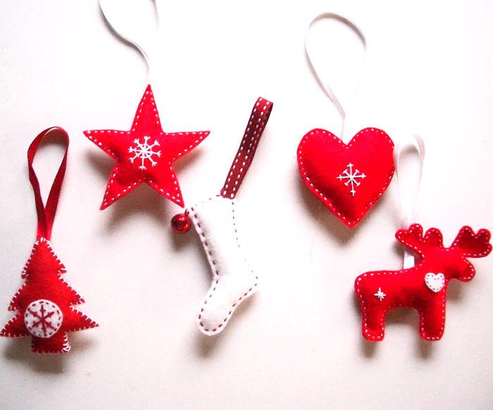 Super Decorazioni di Natale in feltro: fai così! - Mamme a spillo PP47