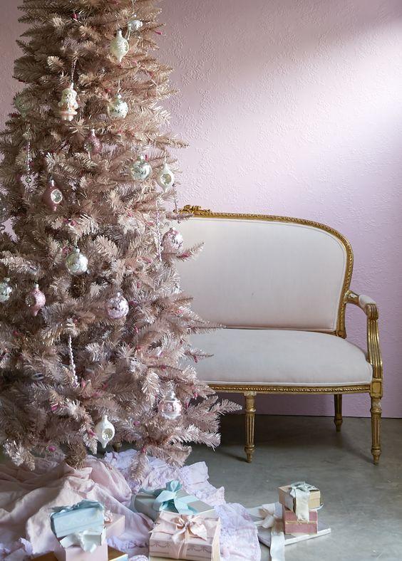 Decorazioni Shabby Chic Fai Da Te.Shabby Chic Christmas Tante Idee Per Le Vostre Decorazioni Natalizie