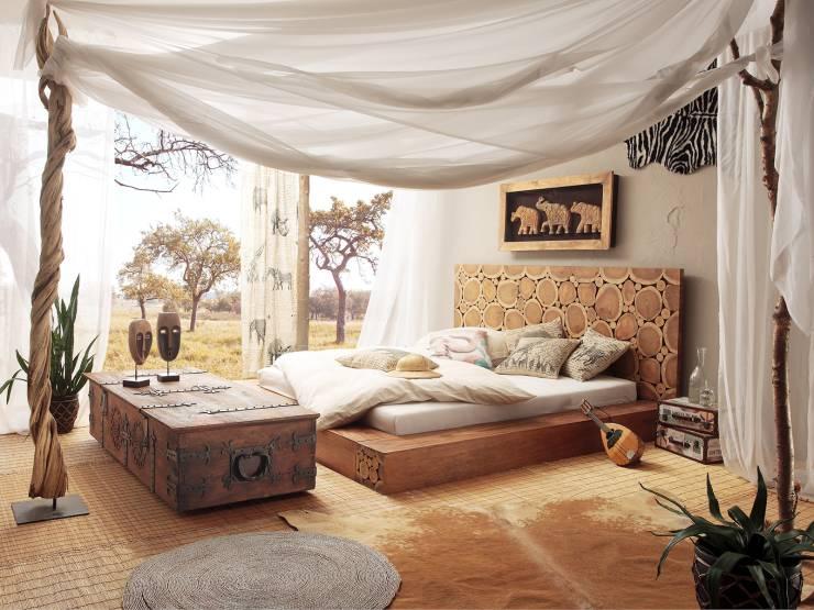 Camera da letto in stile coloniale per un riposo d for Arredamento in stile coloniale