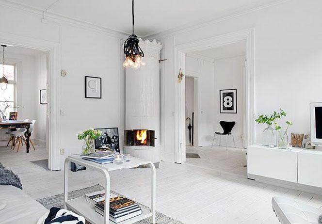 Suggestioni in bianco iniziare il nuovo anno con un for Arredare casa in bianco
