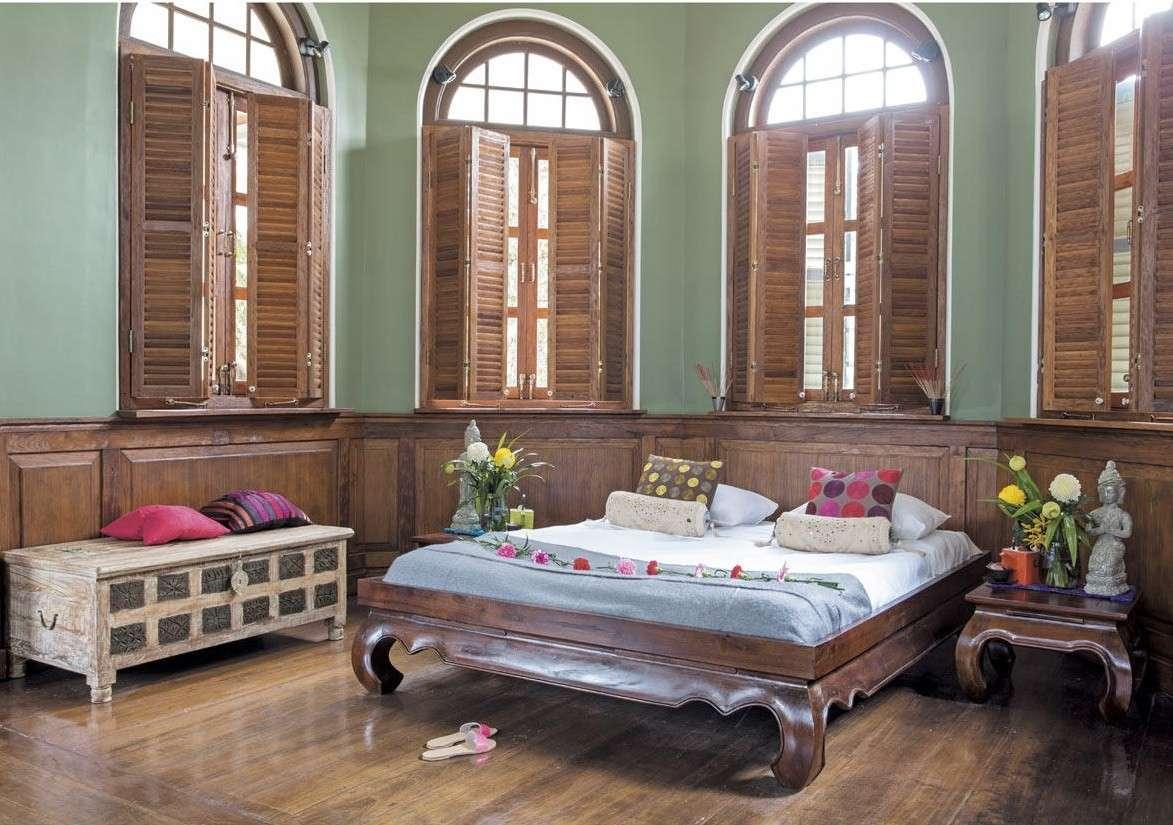 Camera da letto in stile coloniale: per un riposo d\'atmosfera ...