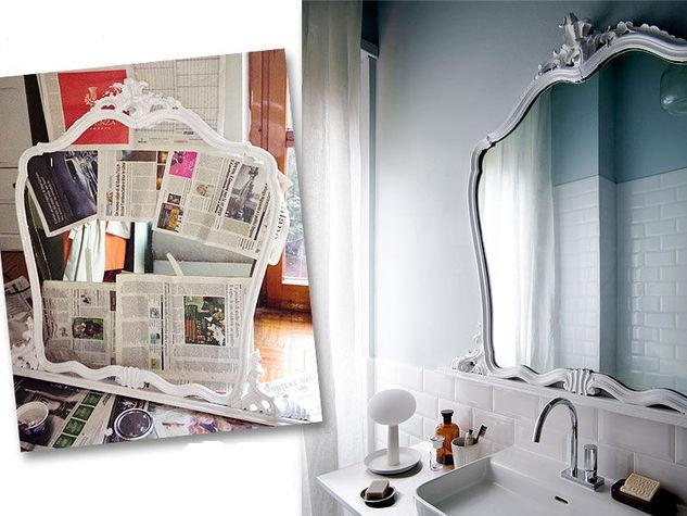 Arredo creativo come trasformare i vecchi mobili in pezzi attuali - Oggetti per arredare il bagno ...