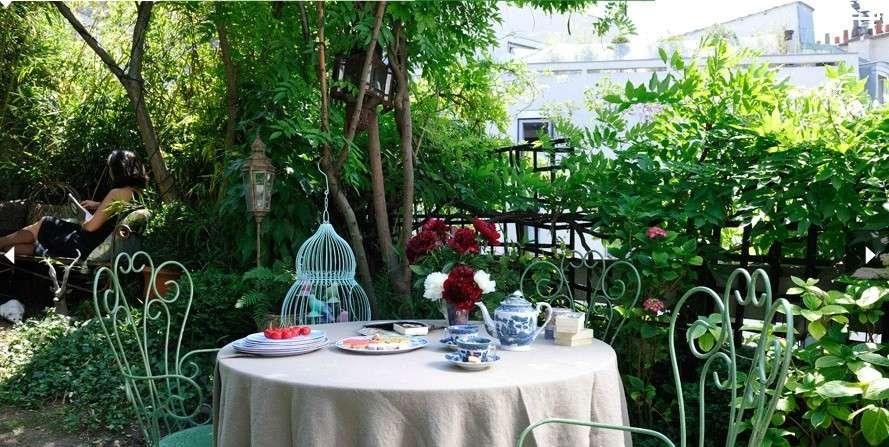 Giardino in stile shabby chic come arredarlo in modo perfetto - Shabby chic giardino ...