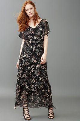 elena miro abito lungo vanessa incontrada moda donna curvy primavera 2017 mamme a spillo