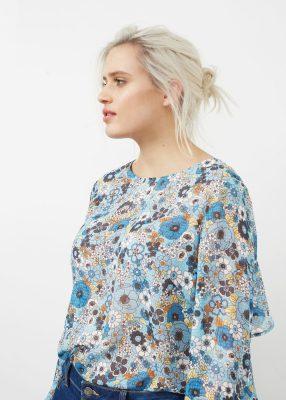 mango blusa moda curvy primavera 2017 mamme a spillo