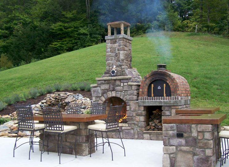 Barbecue o forno a legna ecco quale scegliere per l - Forno per pizza da giardino ...