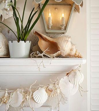 Decorazioni bellissime e fai da te con le conchiglie for Idee ristrutturazione casa al mare