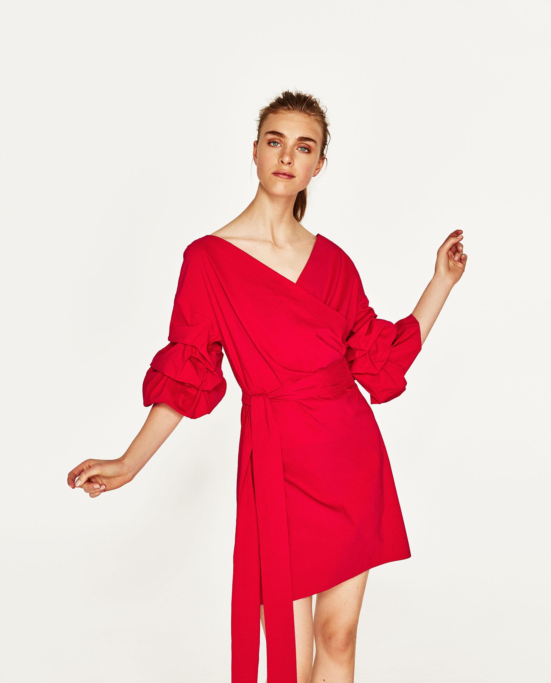 ZARA abitino rosso moda low cost estate 2017 mamme a spillo