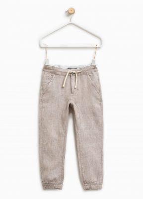 pantaloni in lino ovs primavera 2017
