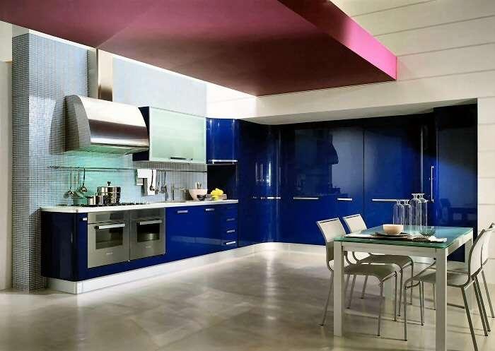 Pareti Colorate Casa Moderna Of Una Cucina Moderna E Colorata Come Arredarla Nel Modo