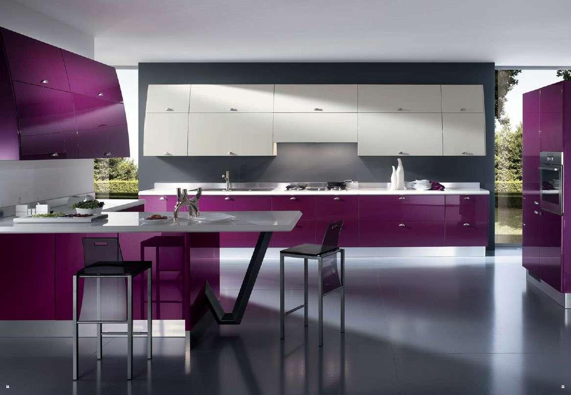 Una Cucina Moderna E Colorata Come Arredarla Nel Modo