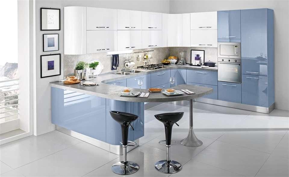 Una cucina moderna e colorata come arredarla nel modo perfetto mamme a spillo - Cucine mondo convenienza prezzi ...