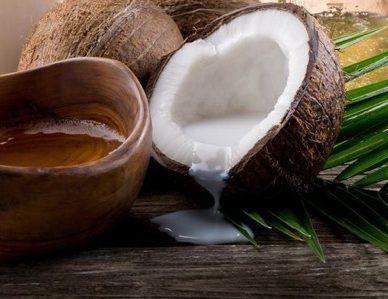 benessere salute per i capelli olio di cocco