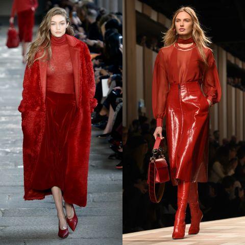 color rosso tendenze moda autunno 2017 mamme a spillo