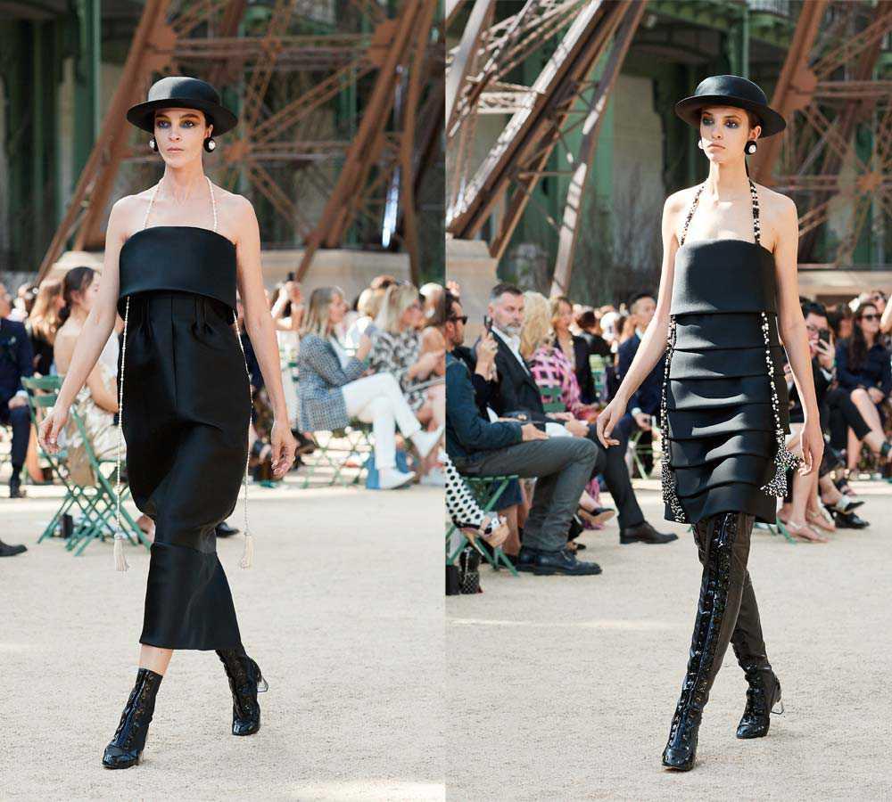 Tendenze autunno inverno 2018 bentornato abito nero for Chanel alta moda