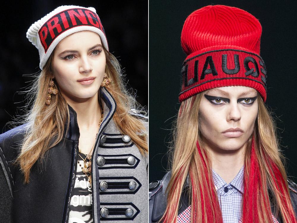 I modelli di punta dell autunno inverno 2017 sono il berretto di lana dal  mood sporty c0c580a641de