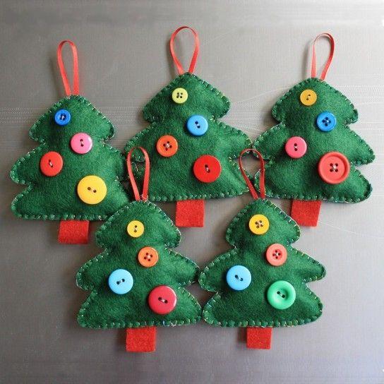 Super Decorazioni fai da te low cost per l'albero di Natale: le idee più  AP73