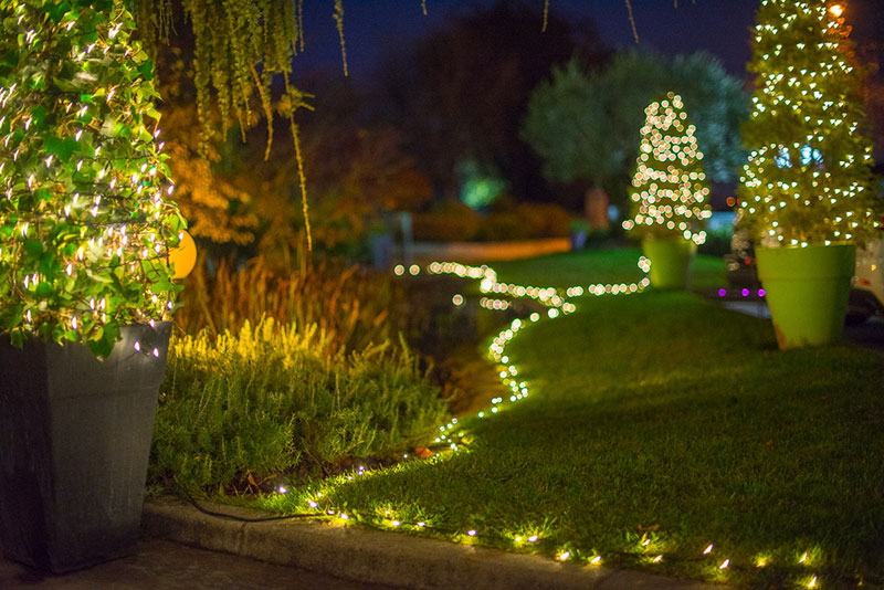 Luci natalizie da esterni: come scegliere le più belle in tutta
